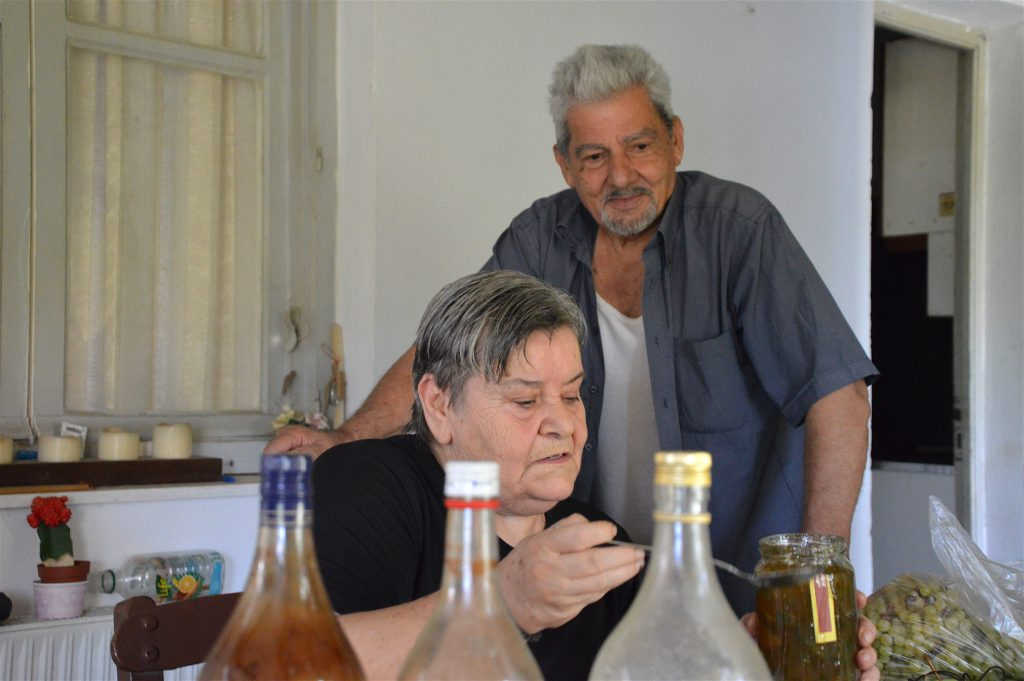 50 years together - Alexandra and Jorgos Frangonikolakis and the orange blossom water